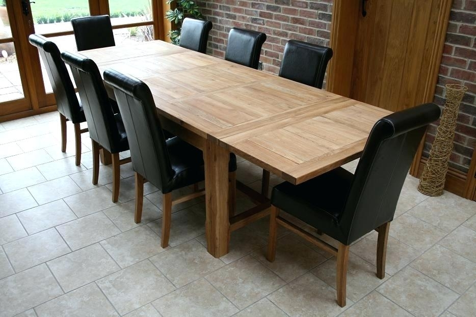 Dining Table Set For 8 – Aigdonia With 8 Seater Dining Table Sets (Image 21 of 25)