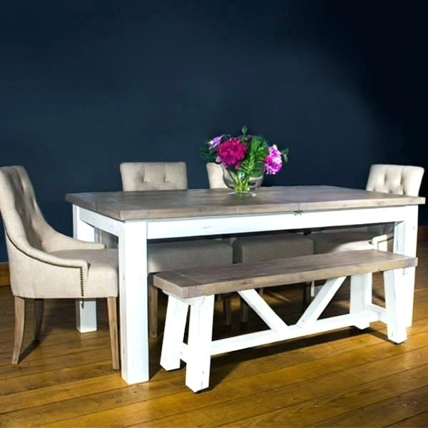 Dining Table Set With Bench – Amati (Image 6 of 25)