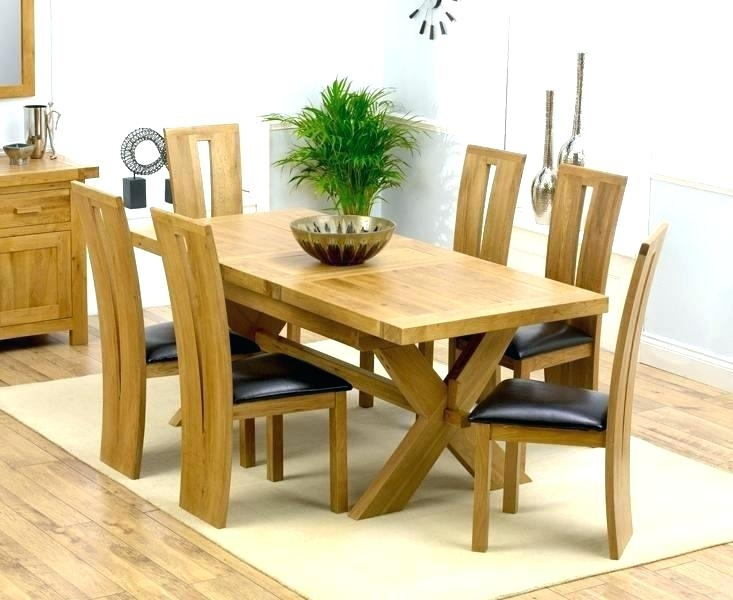 Dining Table Sets 6 Chairs – Bucketforks Throughout Extendable Dining Tables And 6 Chairs (Image 13 of 25)