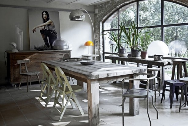 Dining Table Sets: All Kind Of Interesting Dining Table Design Ideas With Regard To Bale Rustic Grey Dining Tables (Image 5 of 25)