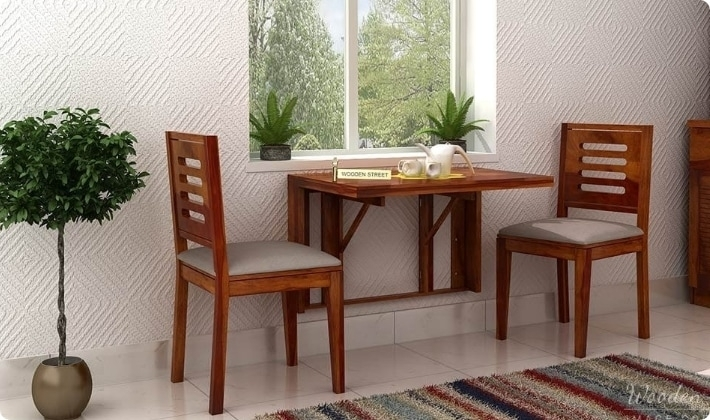 Dining Table Sets: Buy Wooden Dining Table Set Online @ Low Price Throughout Dining Table Sets For  (Image 15 of 25)