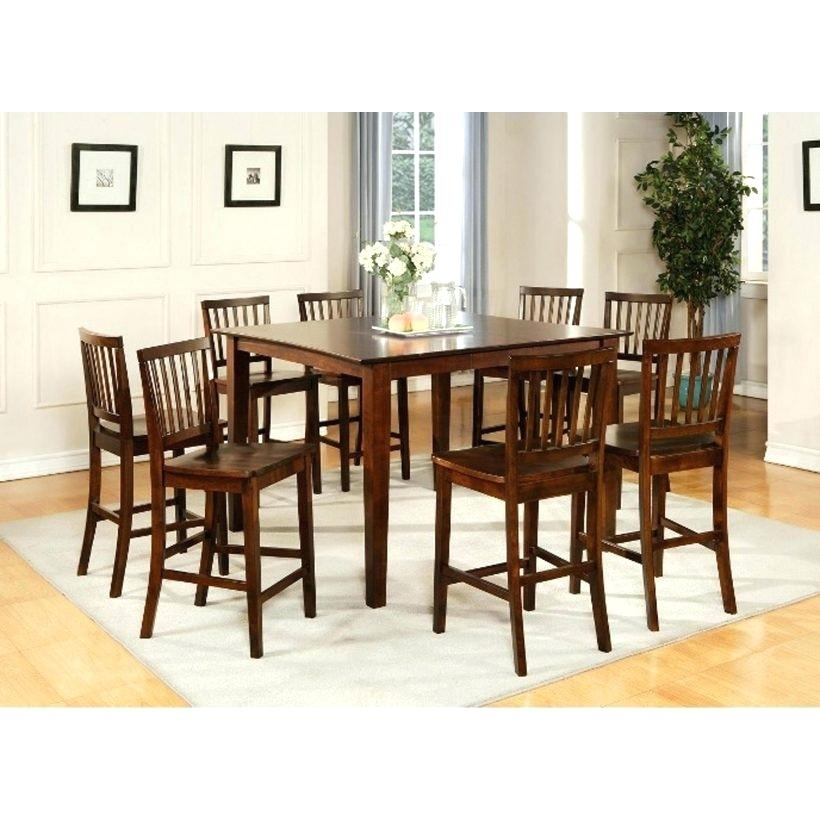 Dining Table Sets Ebay All Wood Dining Room Sets Piece Counter Within Ebay Dining Suites (Image 19 of 25)