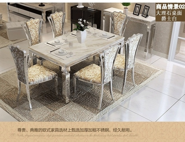 Dining Table Sets Marble Dining Table 4 Chairs Modern Stylish Dining In Cheap Dining Tables Sets (View 11 of 25)