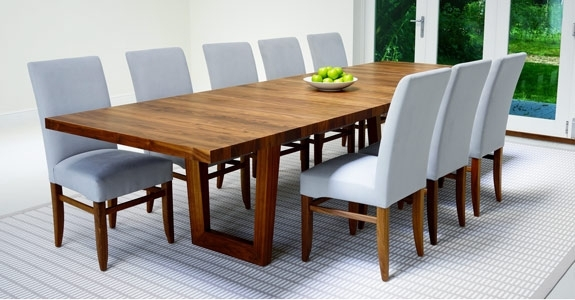 Dining Table Size And Seating Guide Intended For Extending Rectangular Dining Tables (Image 8 of 25)