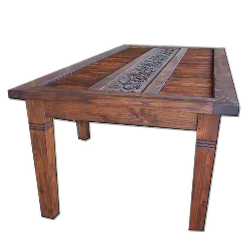 Dining Table | Thai – Bali Décor With Bali Dining Tables (Image 12 of 25)