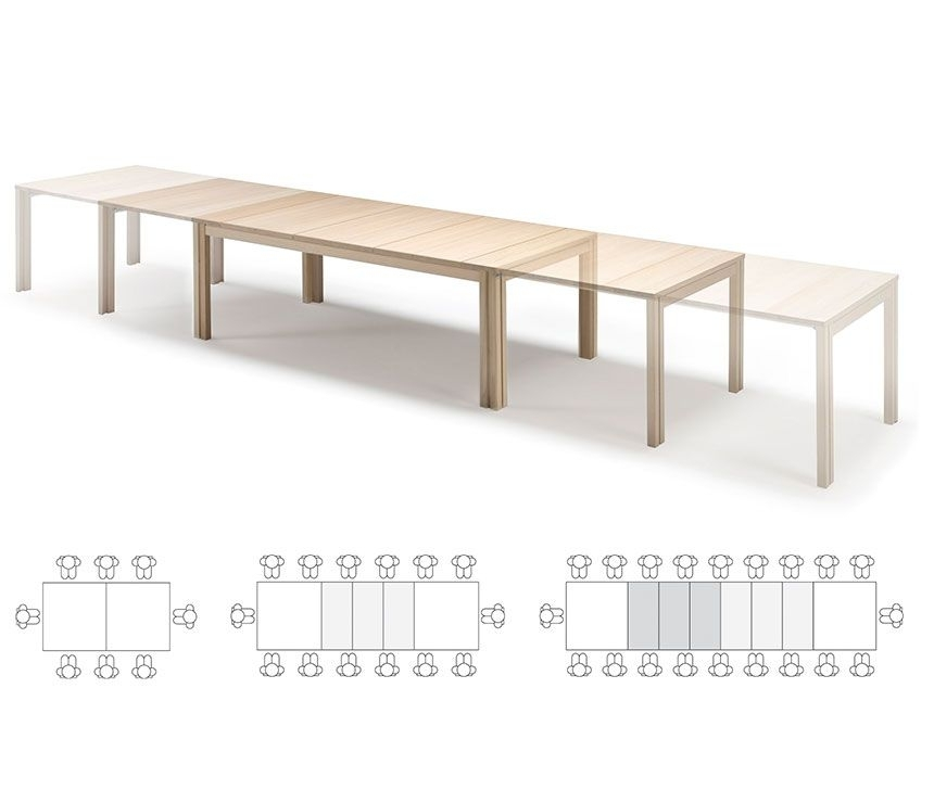 Dining Table That Seats 14 – Google Search   Ides334 In 2018 Intended For Extending Dining Tables With 14 Seats (Image 11 of 25)