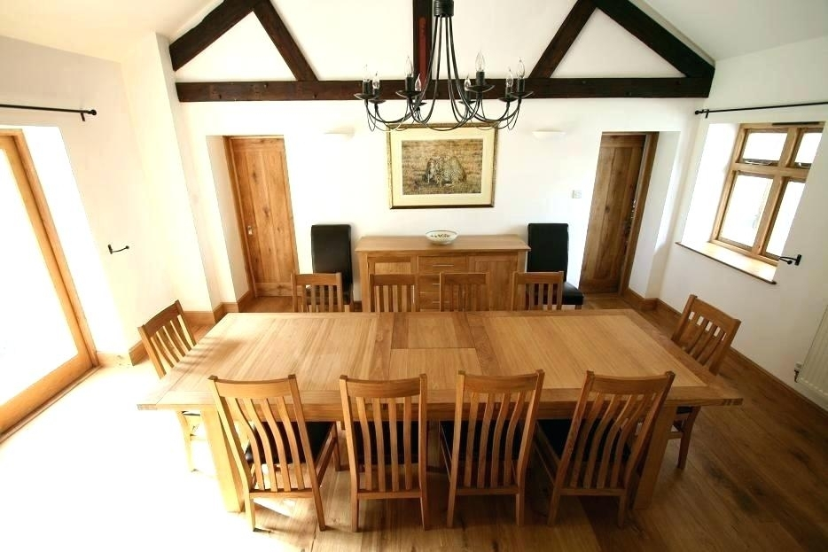 Dining Table To Seat 10 Seats 8 Oak Dining Table Sets Great Within Extending Dining Table With 10 Seats (Image 12 of 25)