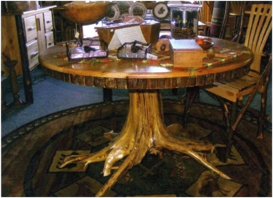 Dining Table Tree Stump Dining Table For Sale Uk Trunk Tree Trunk For Tree Dining Tables (Image 7 of 25)