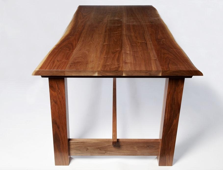 "Dining Table ""Wayne Edge Walnut – Gavin Robertson Furniture Inside Gavin Dining Tables (View 24 of 25)"