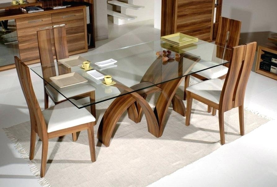 Dining Table White Legs Dining Room Table White Legs – Crit With Glass Dining Tables With Oak Legs (Image 8 of 25)