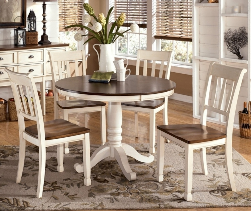 Dining Table White Legs Wood Top | Modern Home Furniture | Home With Dining Tables With White Legs And Wooden Top (Image 5 of 25)