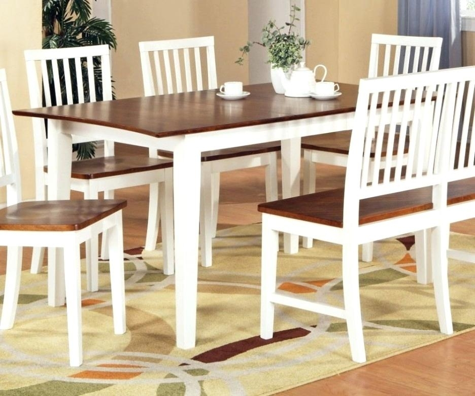 Dining Table White Legs Wooden Top Dining Table White Legs Wooden Regarding Dining Tables With White Legs And Wooden Top (Image 8 of 25)