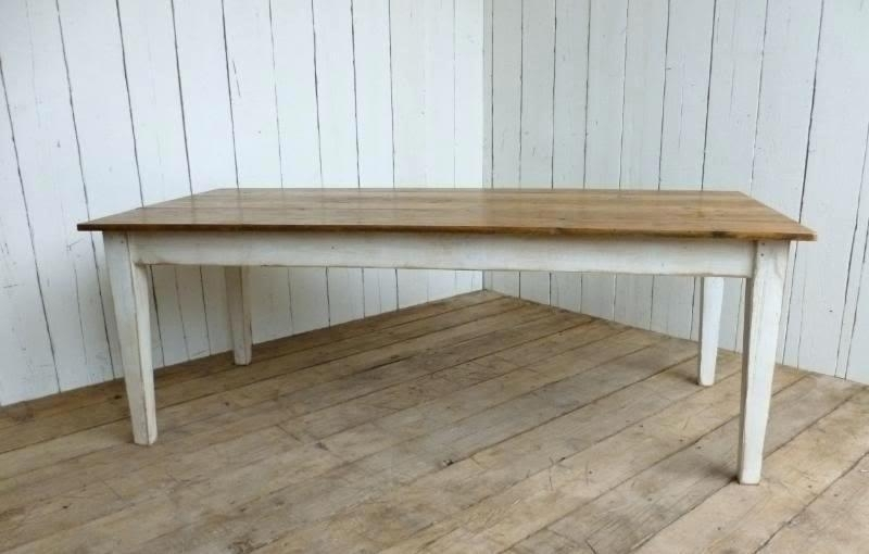 Dining Table White Legs Wooden Top Kitchen Table White Legs Wood Top With Dining Tables With White Legs And Wooden Top (Image 9 of 25)