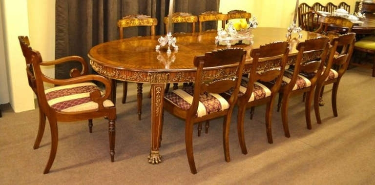 Dining Table With 10 Chairs | Zef Jam Regarding Dining Table And 10 Chairs (Image 18 of 25)