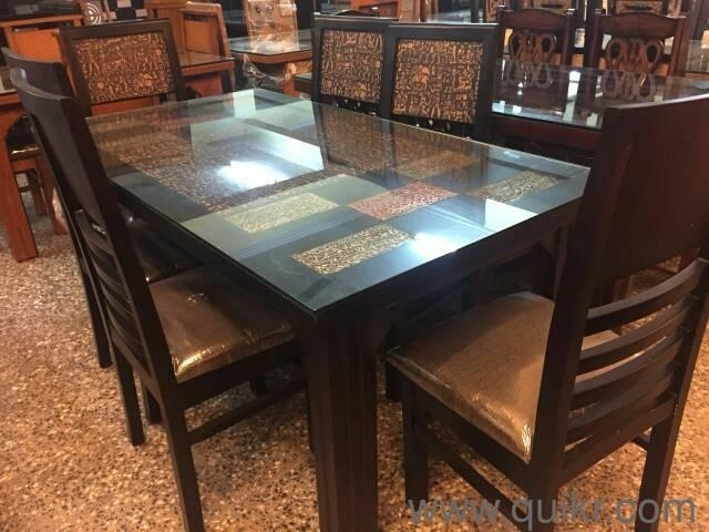 Dining Table With 6 Chairs – Brand New Dining Tables,6 Seater,solid For Wood Dining Tables And 6 Chairs (Image 14 of 25)