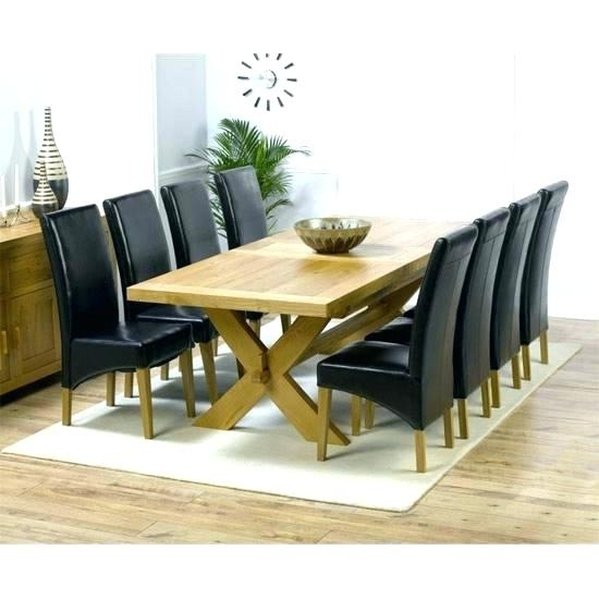 Dining Table With 8 Chairs Chair Set Room – Fondodepantalla Throughout Dining Tables 8 Chairs Set (View 7 of 25)