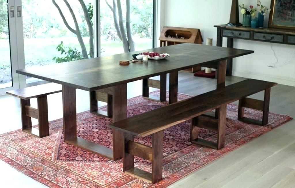 Dining Table With Bench Seat Dining Bench Seat Dining Table Bench In Dining Tables Bench Seat With Back (View 6 of 25)