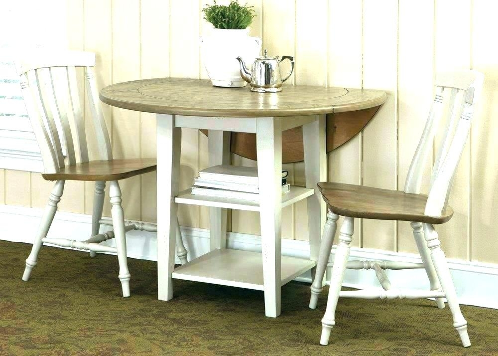Dining Table With Chair Drop Leaf Dining Table Set Drop Leaf Kitchen Regarding Cheap Drop Leaf Dining Tables (View 21 of 25)