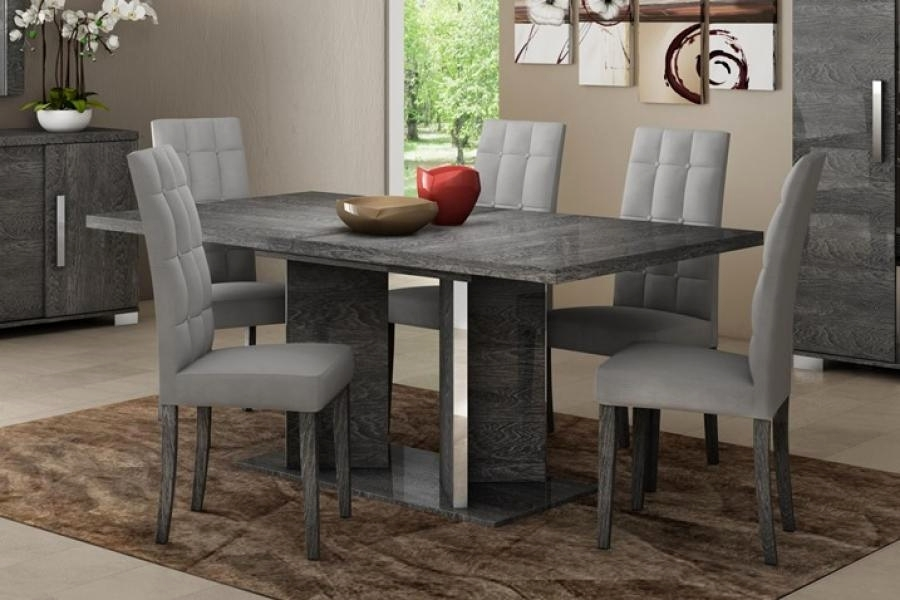 Dining Table With Grey Chairs – Insane Dining Table With Grey Chairs Intended For Dining Tables With Grey Chairs (Image 10 of 25)