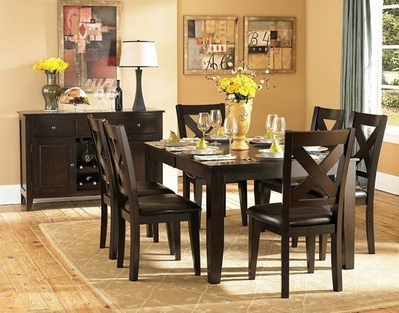 Dining Table With Six Chairs For $650 In Dfw Metroplex Throughout 6 Chairs Dining Tables (Image 21 of 25)