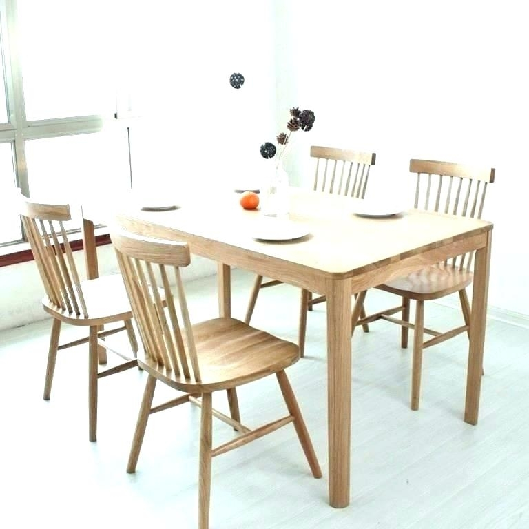 Dining Table With Stools Wooden Dining Table Stools – Bcrr With Regard To Dining Tables With Attached Stools (Image 8 of 25)