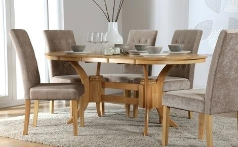 Dining Tables 6 Chairs Oval Extending Dining Table And Chairs Lovely Intended For Extending Dining Tables And 6 Chairs (View 21 of 25)