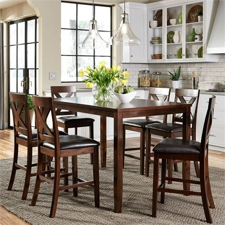 Dining Tables 7 Piece | Liberty For Magnolia Home Prairie Dining Tables (Image 7 of 25)