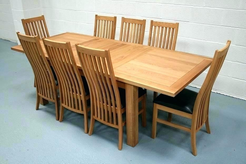 Dining Tables 8 Seater 8 Dining Set 8 Seat Dining Table Set View Pertaining To Extending Dining Table And Chairs (Image 11 of 25)