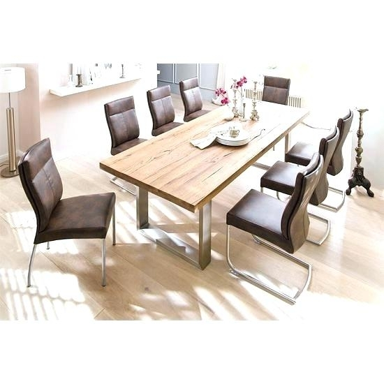 Dining Tables 8 Seater Square Dining Tables Seating 8 Large Square For 8 Seater Oak Dining Tables (View 11 of 25)
