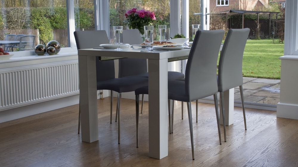 Dining Tables: Amusing Grey Dining Tables Grey Dining Room Table And Throughout Dining Tables Grey Chairs (Image 5 of 25)