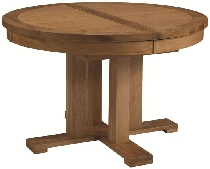 Dining Tables: Amusing Round Extension Dining Table Expandable Round Regarding Jaxon Round Extension Dining Tables (Image 3 of 25)