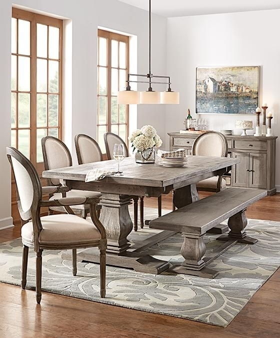 Dining Tables. Amusing Weathered Wood Dining Table: Weathered-Wood with Bale Rustic Grey Dining Tables