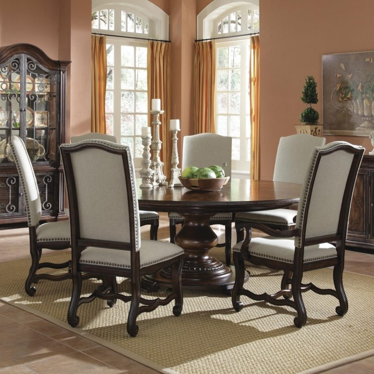 2019 Latest 6 Person Round Dining Tables