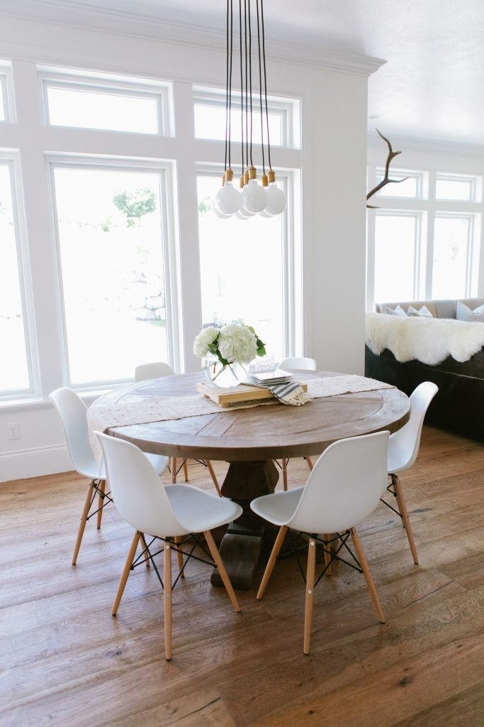 Dining Tables: Astounding Round White Dining Table Round Dining For Small Round White Dining Tables (Image 3 of 25)