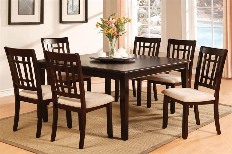 Dining Tables: Awesome Square Extendable Dining Table Expandable Pertaining To Extendable Square Dining Tables (Image 5 of 25)