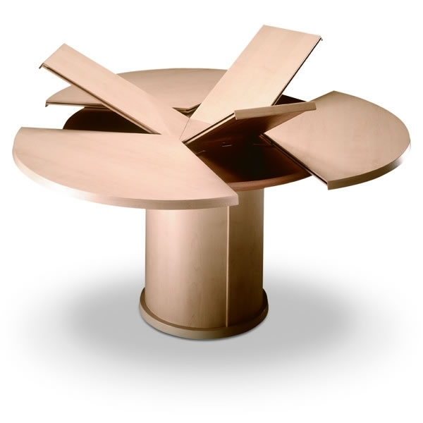 Dining Tables – Back In Action With Regard To Circular Dining Tables (Image 14 of 25)
