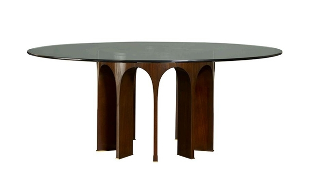 Dining Tables | Cavit & Co Within Caira Extension Pedestal Dining Tables (View 4 of 25)
