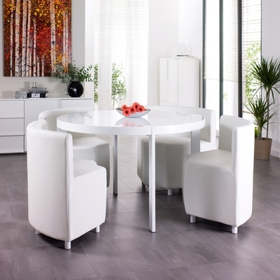 Dining Tables   Contemporary Dining Room Furniture From Dwell Intended For Next White Dining Tables (Image 16 of 25)