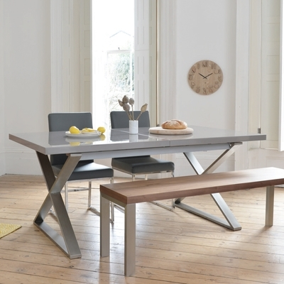Dining Tables | Contemporary Dining Room Furniture From Dwell Throughout Shiny White Dining Tables (View 25 of 25)