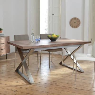 Dining Tables | Contemporary Dining Room Furniture From Dwell Within Extendable Dining Tables (Image 7 of 25)