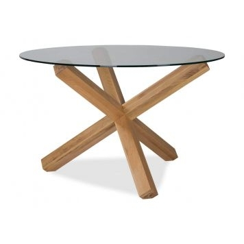Dining Tables – Dining – Ez Living Furniture In Circular Oak Dining Tables (View 6 of 25)