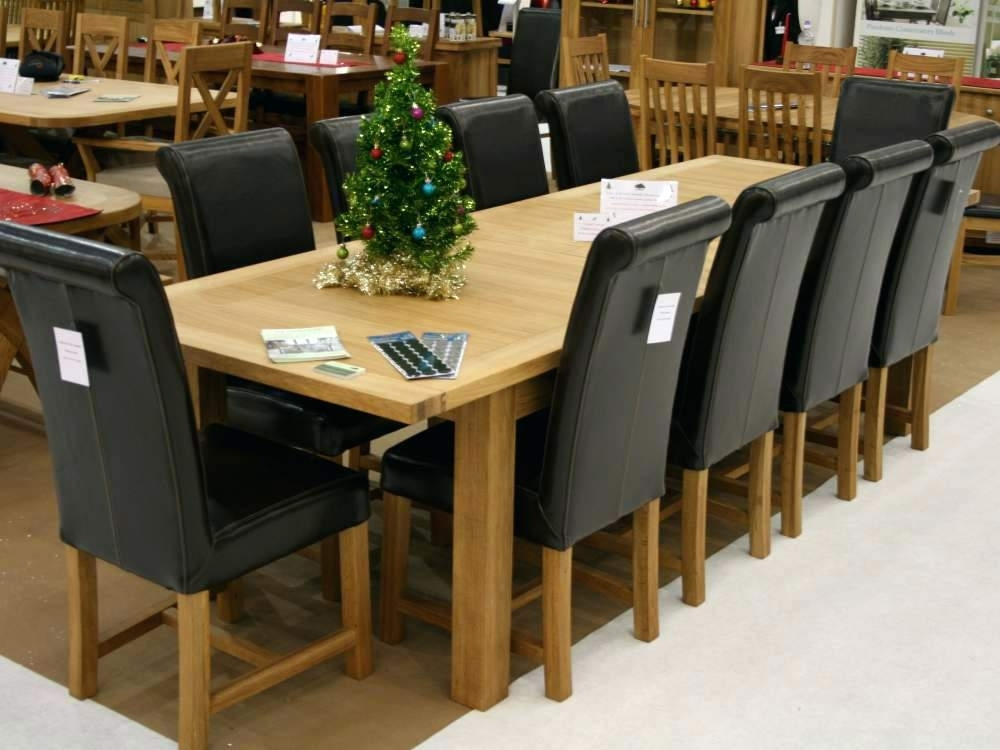 Dining Tables For 10 Extra Large Solid Walnut Expandable Round In 10 Seater Dining Tables And Chairs (View 18 of 25)