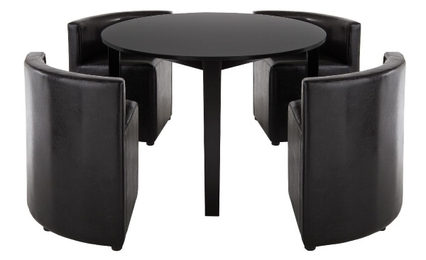 Dining Tables For Tiny Spaces – The Furniture Co inside Stowaway Dining Tables and Chairs