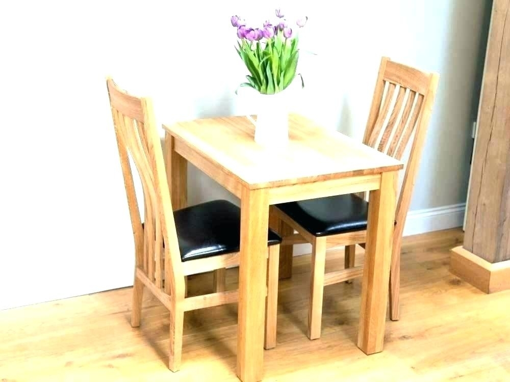 Dining Tables For Two Small Dining Table Sets 2 Dining Table Chairs In Dining Tables For Two (View 6 of 25)