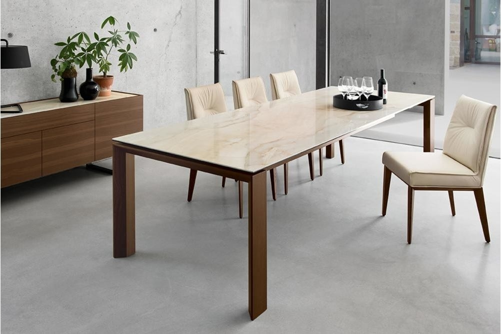 Dining Tables | Furniture | Omnia Ceramic Extension Table (Image 19 of 25)