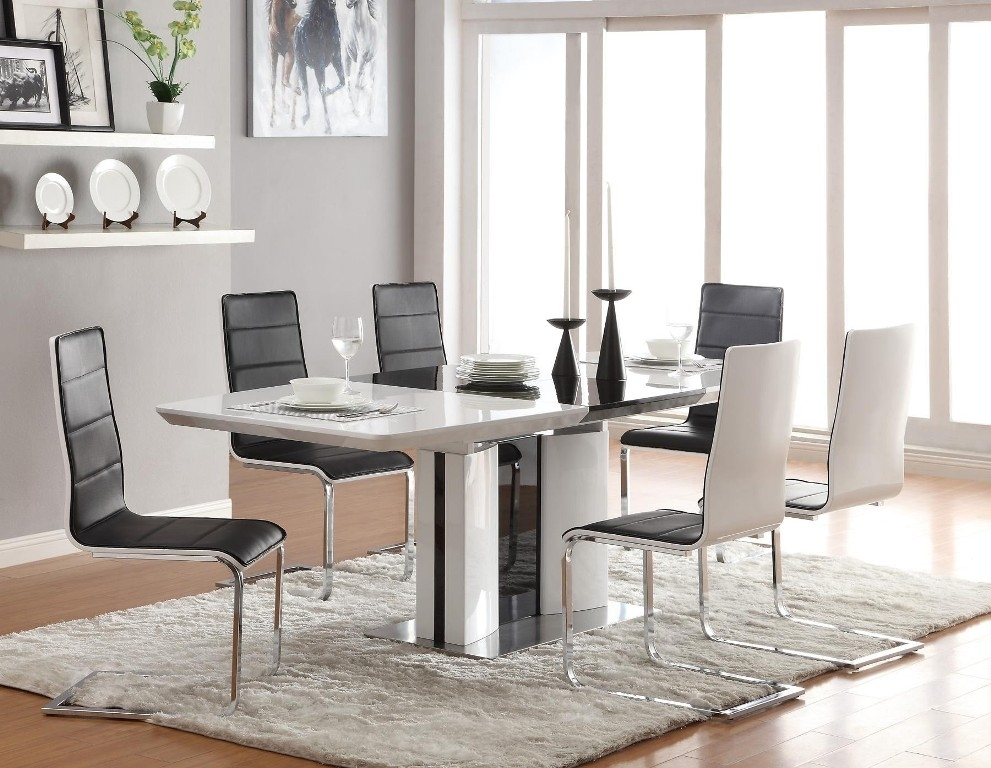 Dining Tables: Interesting Contemporary Dining Table Set In Cheap Contemporary Dining Tables (Image 14 of 25)