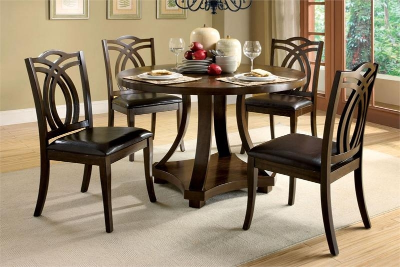 Dining Tables: Interesting Small Circular Dining Table And Chairs Inside Circular Dining Tables For (View 22 of 25)