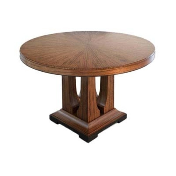 Dining Tables – Laurent Dining Table – Round : Donghia : Pro Regarding Laurent Round Dining Tables (View 2 of 25)