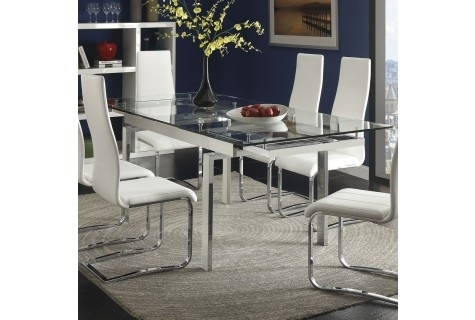 Dining Tables | Local Furniture Outlet – Buy Dining Tables In Austin Regarding Kirsten 5 Piece Dining Sets (Image 8 of 25)
