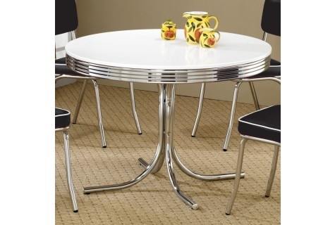 Dining Tables   Local Furniture Outlet – Buy Dining Tables In Austin With Regard To Jefferson Extension Round Dining Tables (Image 15 of 25)